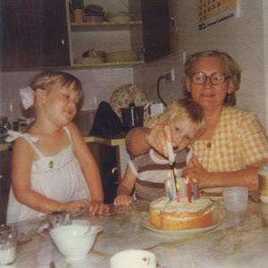 Catherine, Matthew & Ma, 1978