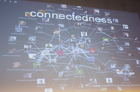 &quot;Connectedness is a state of being&quot; David Wallace