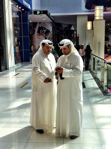 Damn those Angry Birds! Dubai Mall